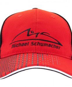 Cappellino Michael Shumacher speedline rosso