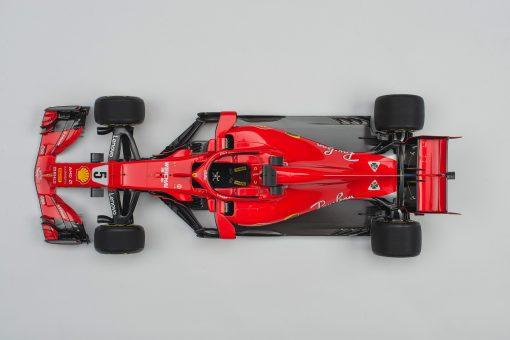 Ferrari AmalgamSF71h Vettel dall alto scaled
