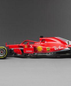 Ferrari AmalgamSF71h Vettel lato