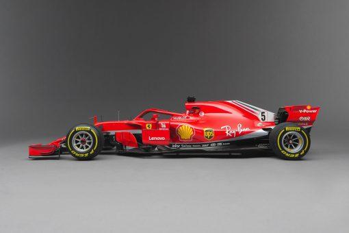 Ferrari AmalgamSF71h Vettel lato scaled