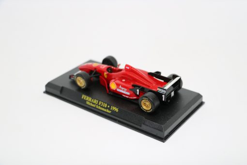 Die cast 143 F1 FERRARI F310 1996 Michael Shumacher 1 scaled