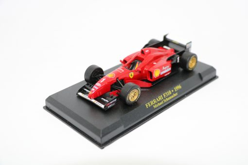 Die cast 143 F1 FERRARI F310 1996 Michael Shumacher 2 scaled