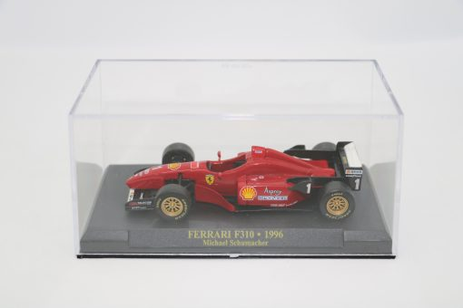 Die cast 143 F1 FERRARI F310 1996 Michael Shumacher 4 scaled