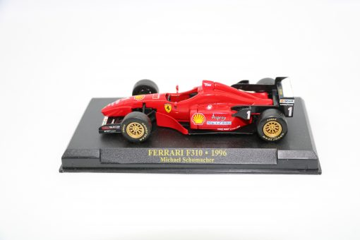 Die cast 143 F1 FERRARI F310 1996 Michael Shumacher scaled