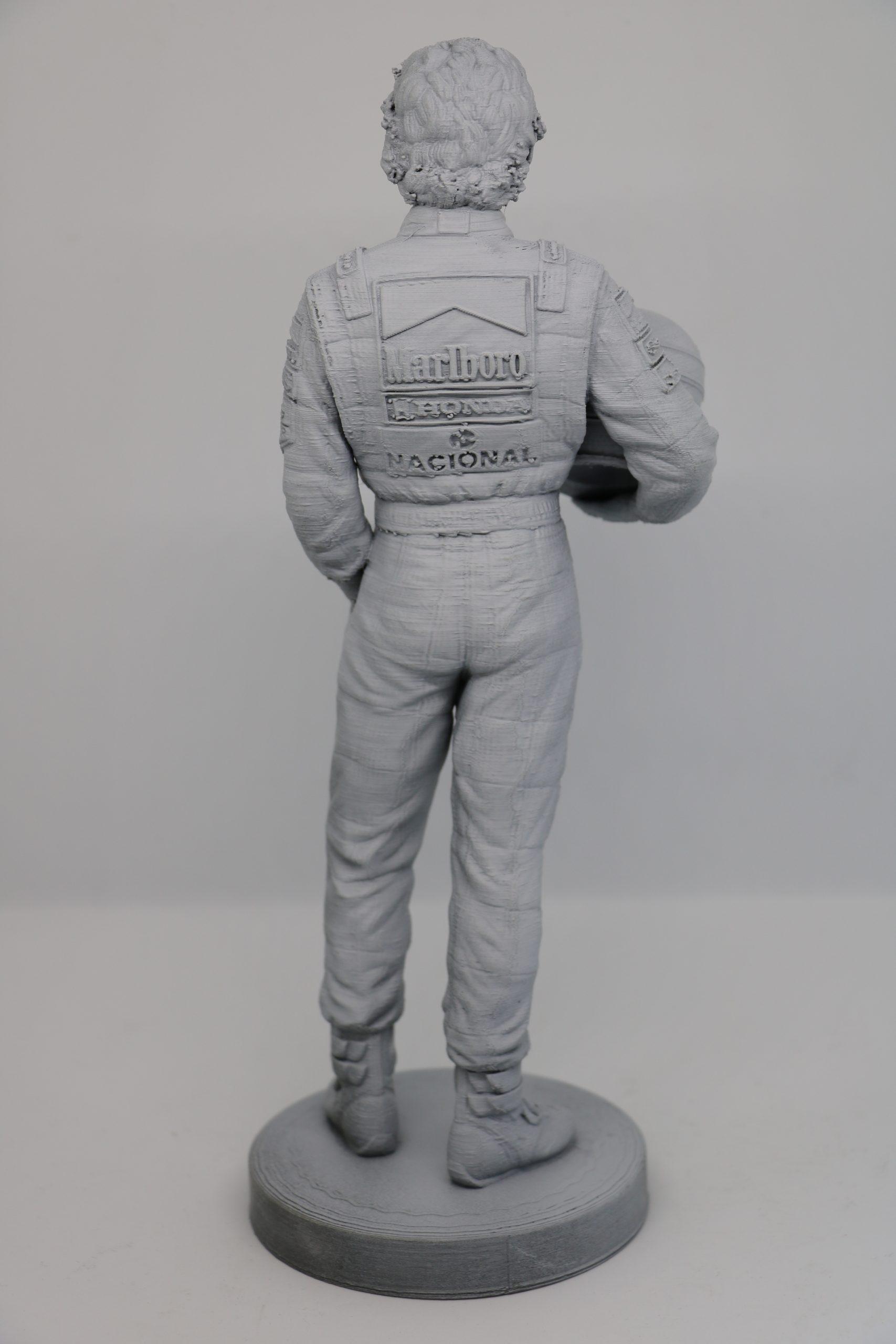 Statuina Ayrton Senna Pilot McLaren Brazil Formula 1 Statua Action figure 24cm