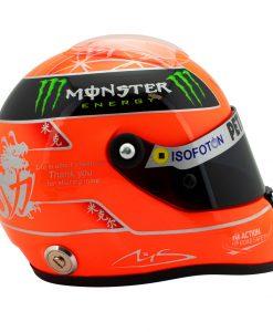 Michael Schumacher Final Helmet GP Formula 1 2012 12 4