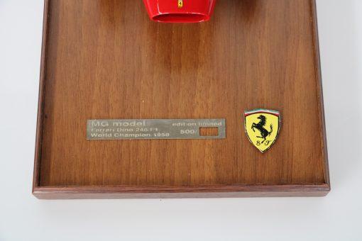 112 MG Models Ferrari Dino 246 F1 World Champion 1958 dettaglio scaled