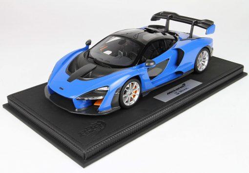 BBR 118 McLaren Senna 2018 Azura Blue 1