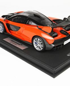 McLaren Senna 118 BBR Models Made in Italy Resin Include plexiglass case e box Limited edition 30 pcs 3