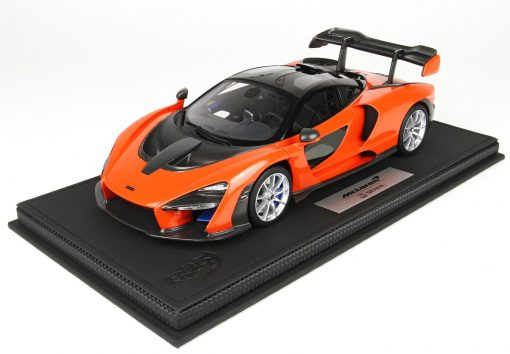 McLaren Senna 118 BBR Models Made in Italy Resin Include plexiglass case e box Limited edition 30 pcs