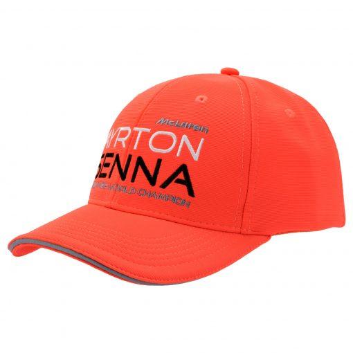 Ayrton Senna Cap McLaren world Champion