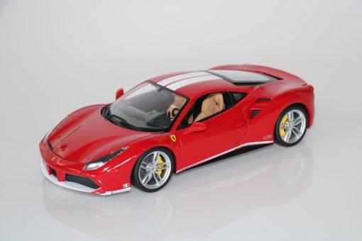 Bburago 118 Ferrari 488 GTB 70th anniversary Collection 4 scaled