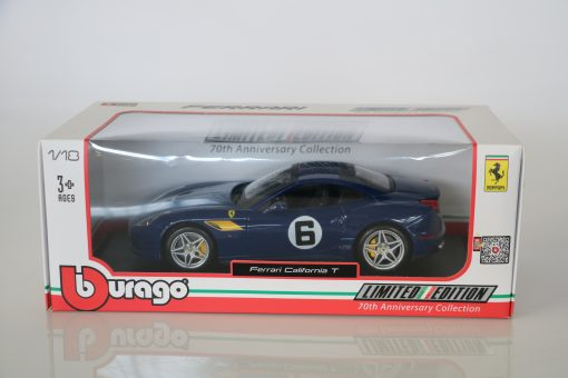 Bburago 118 Ferrari California T 70th Anniversary Collection 3 scaled