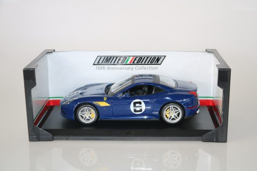 Bburago 118 Ferrari California T 70th Anniversary Collection 4 scaled
