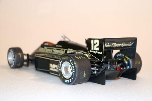 Modellino artigianale 112 F1 Lotus 97T 1985 Ayrton Senna N.12 10