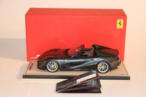 Mr Collection Models 118 Ferrari 812 GTS Grigio Limited Ed. 4 pcs laterale