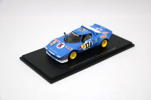 SPARK 143 Lancia Stratos Winner Tour de France 1977 FRONTALE
