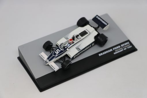Altaya 143 Brabham Ford BT49C Nelson Piwuet 1981 N.5 Germany GP 1