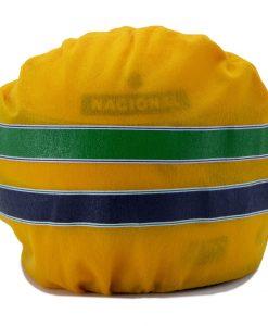 Mini Helmet Ayrton Senna Formula Uno 1994 Williams Renault scala 12 box