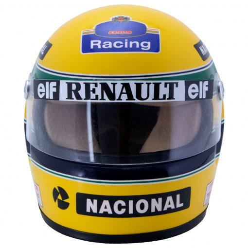 Mini Helmet Ayrton Senna Formula Uno 1994 Williams Renault scala 12 frontale