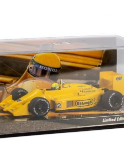 Minichamps 143 Ayrton Senna F1 Lotus Honda 99T Japan GP 1987 plexiglass