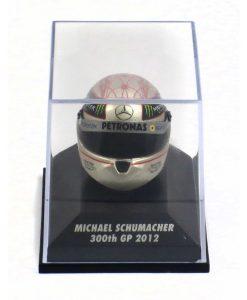Mini helmet 18 Michael Schumacher Replica Helmet 300th GP SPA 2012 2