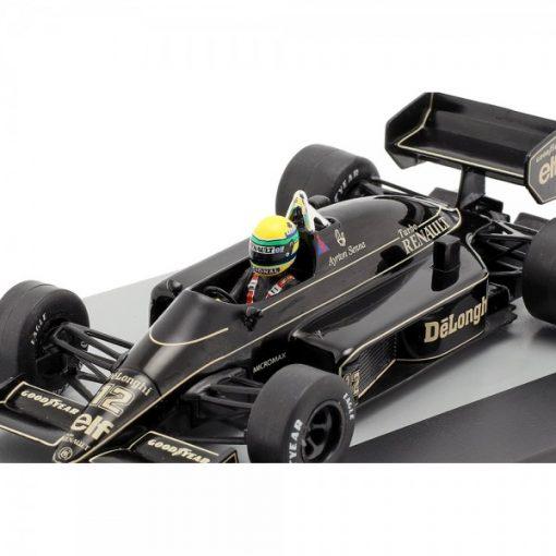 Modellino Atlas 143 Ayrton Senna Lotus 98T 12 Brazil F1 GP 1986 5