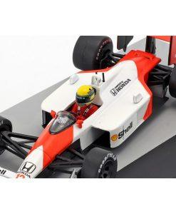 Modellino Atlas 143 Ayrton Senna McLaren MP44 12 Winner San Marino GP F1 1988 2