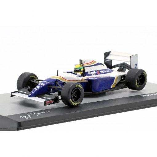 Modellino Atlas 143 Ayrton Senna Williams FW16 2 F1 Brazil GP 1994 3