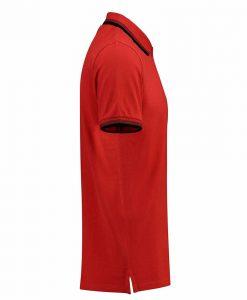 Polo Uomo SF Ferrari Rossa laterale 2