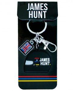 Portachiavi gomma James Hunt Casco 1976 1