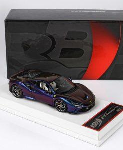 BBR MODELS Ferrari F8 Tributo camaleonte 1 43